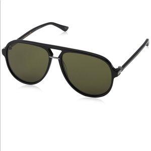 Gucci Aviator GG0015S 001 58 14-140 Sunglasses